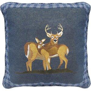 Denim Square Pillow