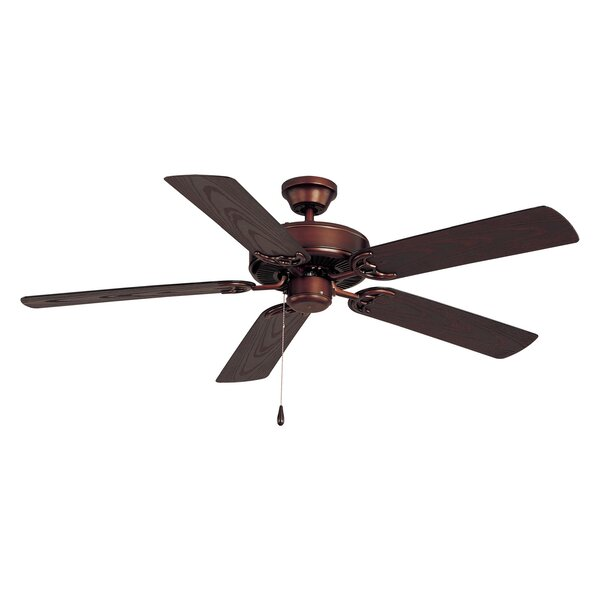 Allie 52 Outdoor 5-Blade Ceiling Fan by Alcott Hill