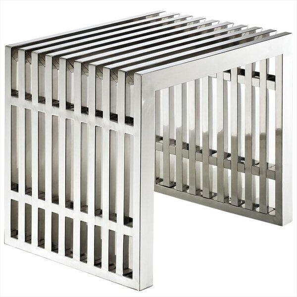Renken Stainless Steel End Table By Orren Ellis
