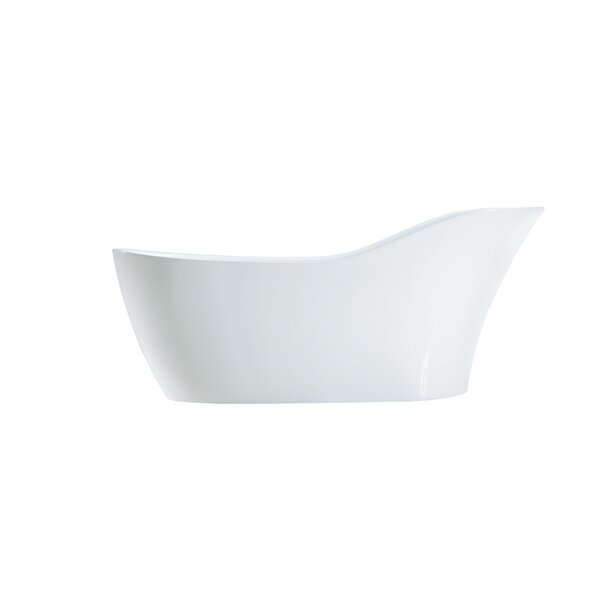 67 x 30 Freestanding Soaking Bathtub by Streamline Bath