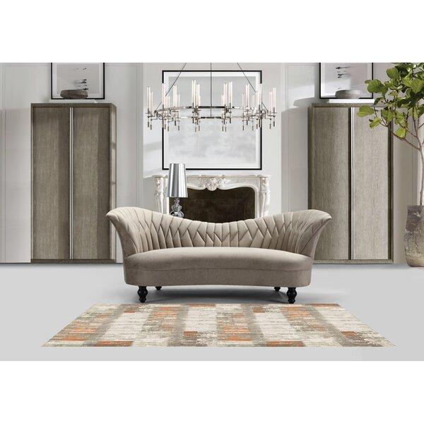 New Look Eddie Kidney Upholstered Sofa by Rosdorf Park by Rosdorf Park