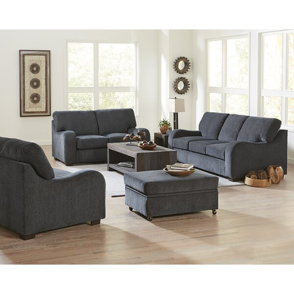 Karpinski 4 Piece Living Room Set by Darby Home Co