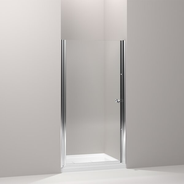 Fluence 36.5 x 65.5 Pivot Shower Door with CleanCoat® Technology by Kohler