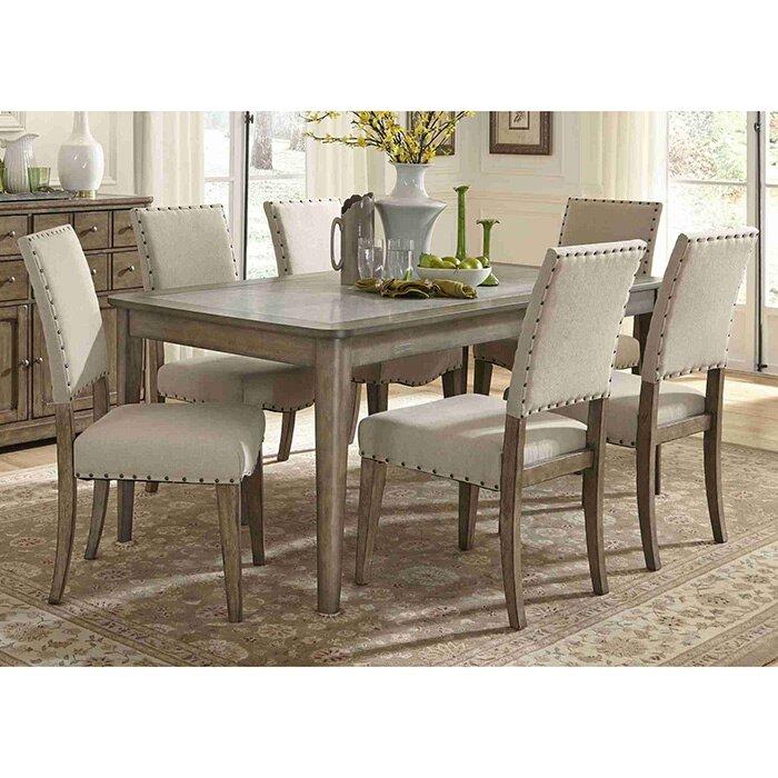 liberty furniture arlen 7 piece dining set & reviews   wayfair