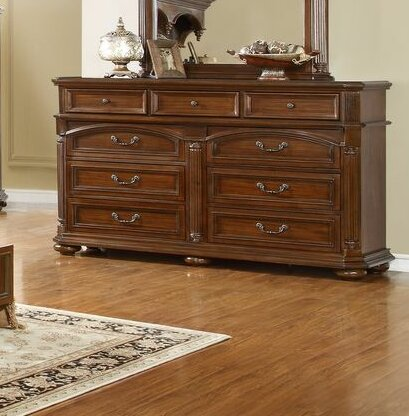 Gusman 9 Drawer Dresser by Fleur De Lis Living