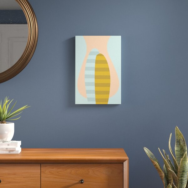 Silhouette Graphic Art on Wrapped Canvas by Langley Street