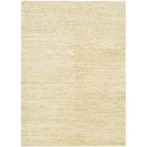 Uhlig Hand-Woven Cream Area Rug by Bungalow Rose