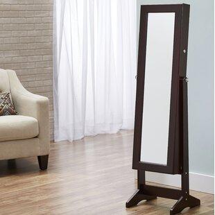 Floor Jewelry Armoire Mirror Wayfair