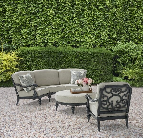 Hargrave Sofa Set with Cushions by Canora Grey