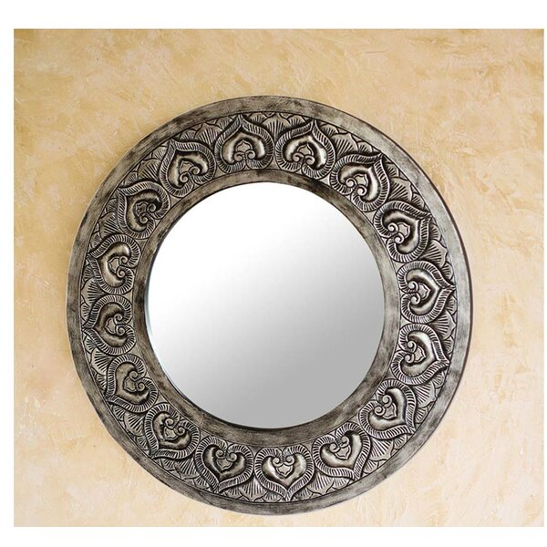 Hearts Accent Mirror by Novica