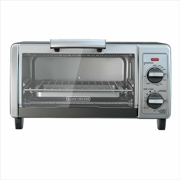 4-Slice Countertop Oven by Black + Decker