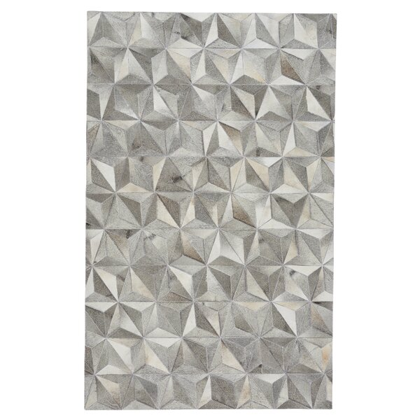 Ramanna Diamond Gray Area Rug by 17 Stories