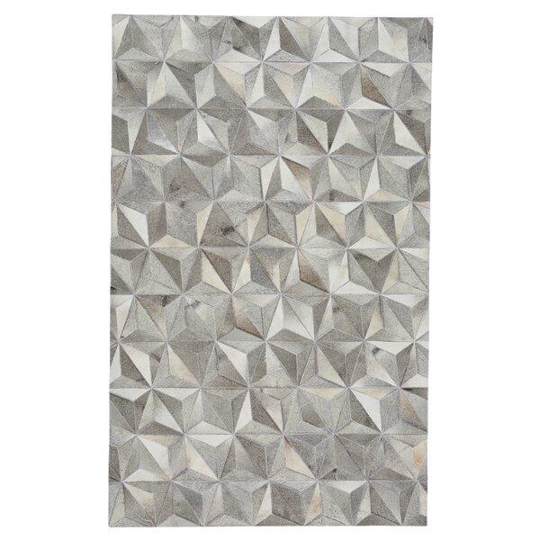 Ramanna Diamond Gray Area Rug by 17 Stories