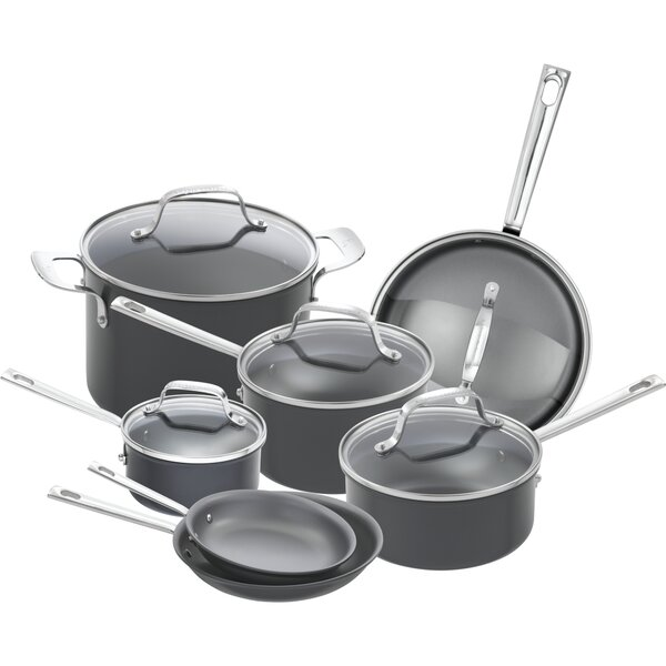 12 Piece Non-Stick Cookware Set by Emeril Lagasse