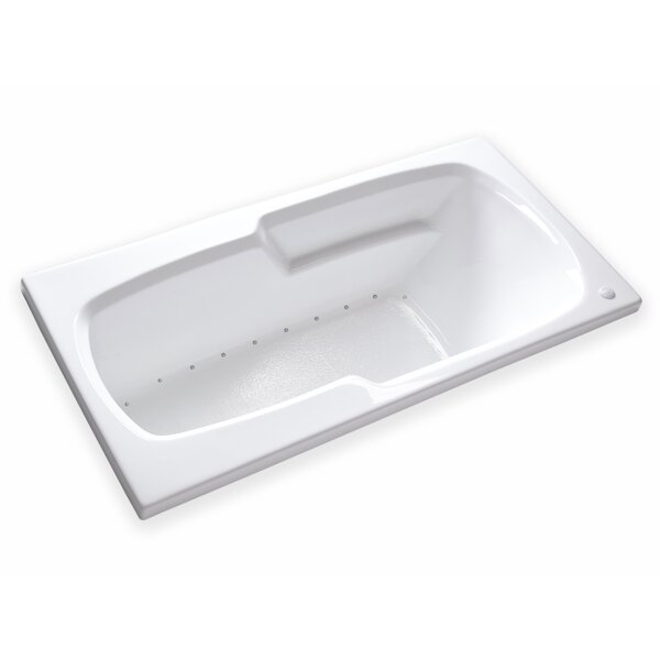 Hygienic Air Tub 65 x 32 Bathtub by Carver Tubs