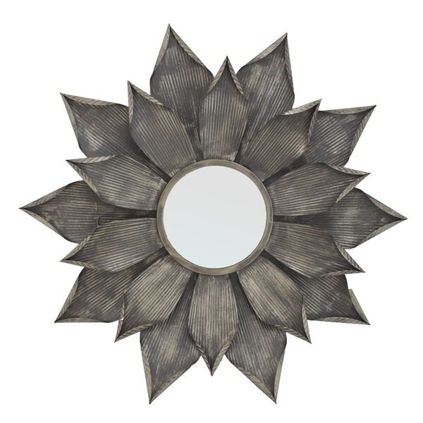 Gill Round Oversized Wall Mirror by Import Collection
