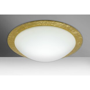 Ring 3-Light Outdoor Flush Mount By Besa Lighting Outdoor Lighting