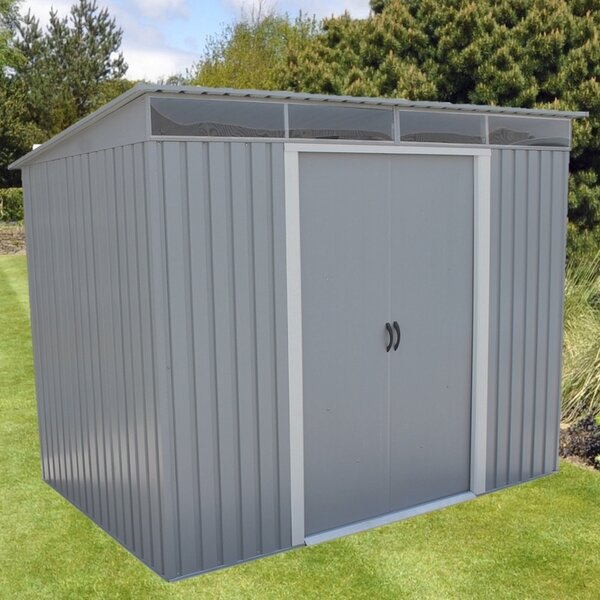 8 ft. 8 in. W x 6 ft. 1 in. D Metal Storage Shed by Duramax Building Products
