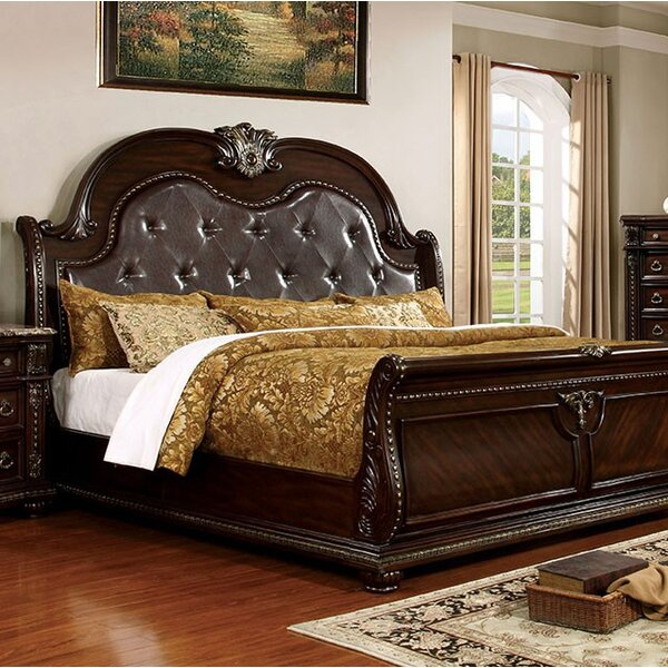India Upholstered Panel Bed by Astoria Grand