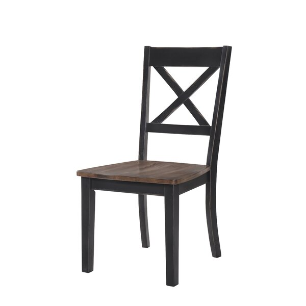Altamirano Solid Wood Dining Chair (Set of 2) by August Grove