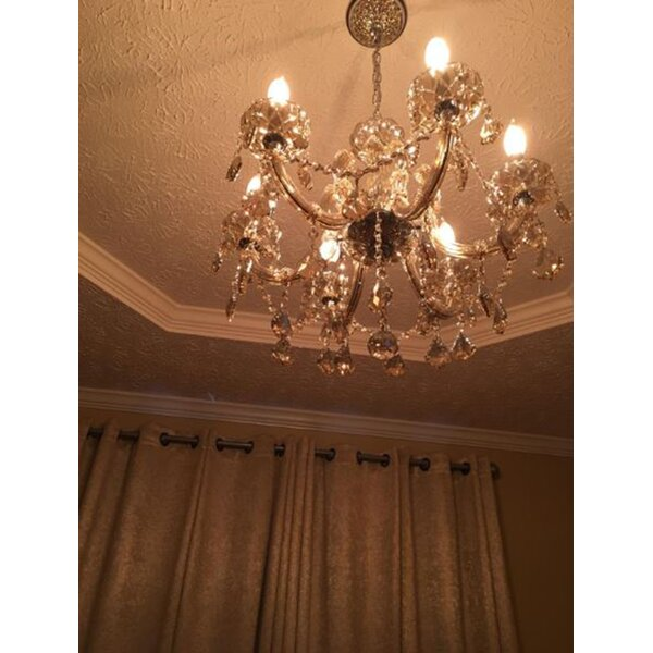 Roslyn 6-Light Candle Style Classic / Traditional Chandelier by Rosdorf Park Rosdorf Park