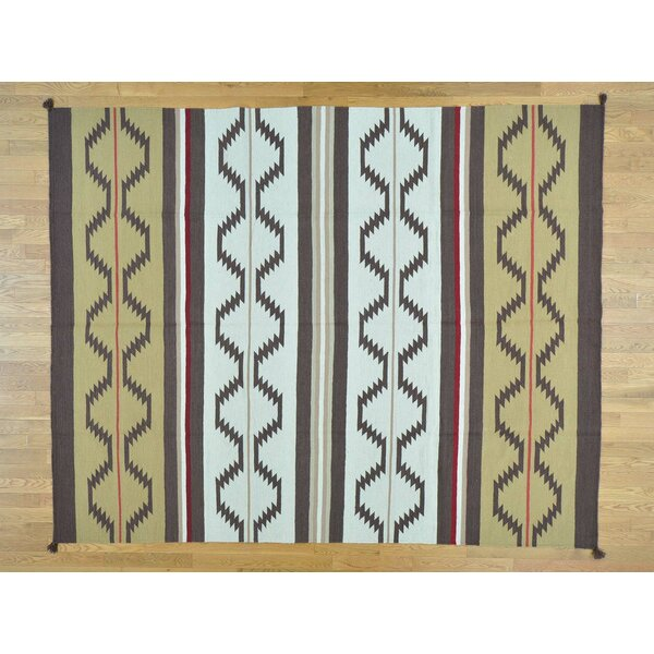 One-of-a-Kind Clarksville Design Handmade Kilim Wool Area Rug by Isabelline
