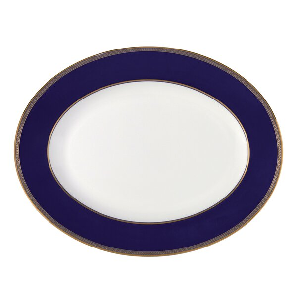 Renaissance Gold Oval Platter by Wedgwood