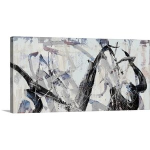 'Gestural II' by PI Studio Painting Print on Canvas by Great Big Canvas