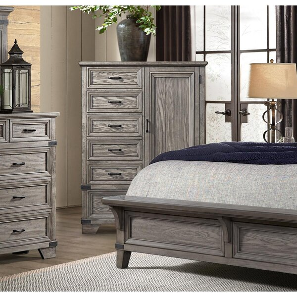 Palmateer 6 Drawer Gentlemans Chest by Gracie Oaks