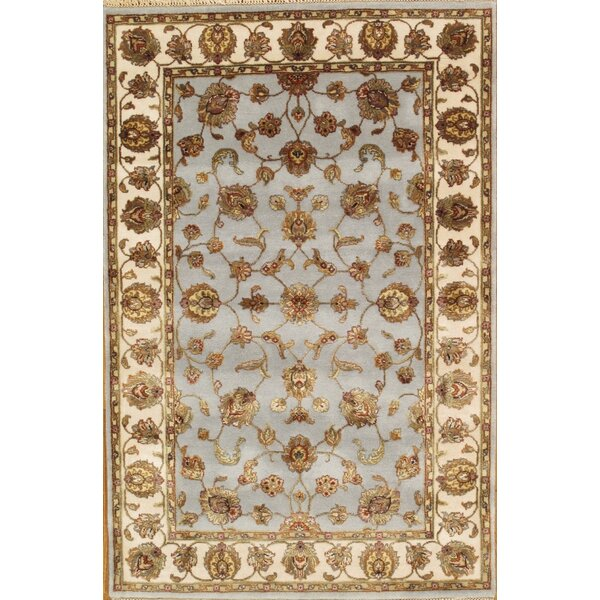 Agra Hand-Knotted Gray Area Rug by Pasargad