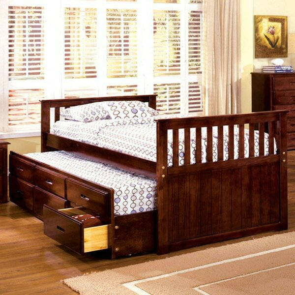 Coupland Captain Twin Platform Bed by Harriet Bee