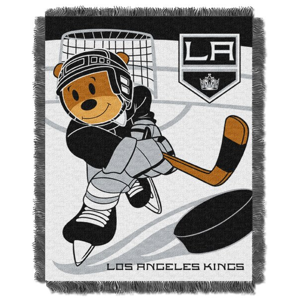 NHL Kings Baby Woven Throw Blanket by Northwest Co.