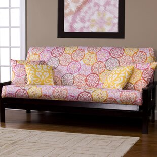 Appleton Zipper Box Cushion Futon Slipcover