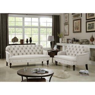 Hillside 2 Piece Living Room Set by Canora Grey