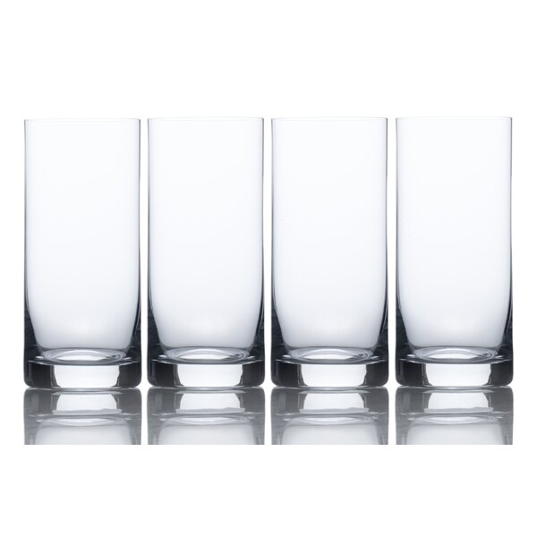 Laura 16 oz. Crystal Highball Glass (Set of 4) by Mikasa