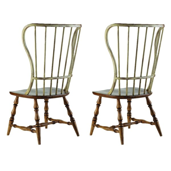 Sanctuary Spindle Back Dining Chair (Set of 2) by Hooker Furniture