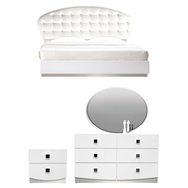 Rachna Upholstered Platform Configurable Bedroom Set by Orren Ellis