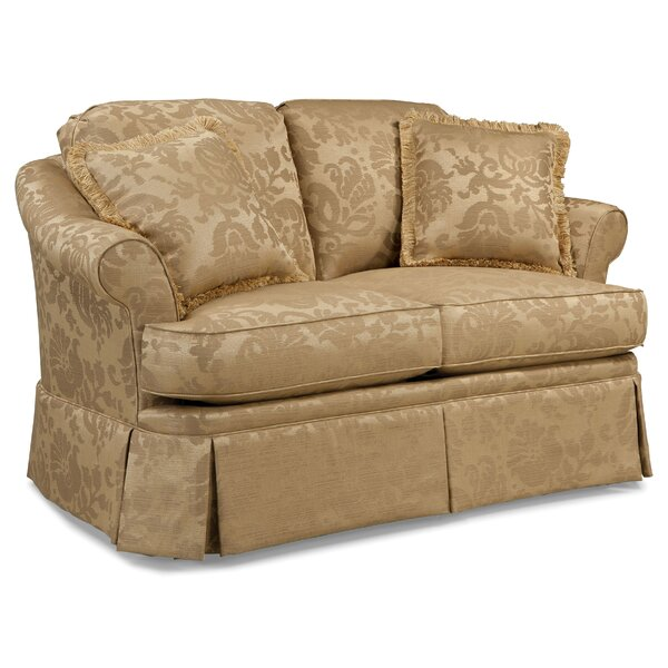 Nice Chic Bristol Loveseat by Fairfield Chair by Fairfield Chair