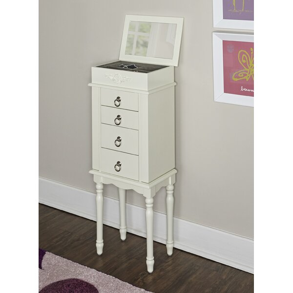Ducan Jewelry Armoire with Mirror by Harriet Bee