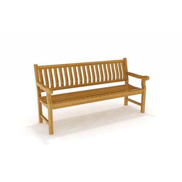 Rose Teak Park Bench by Aqua Teak