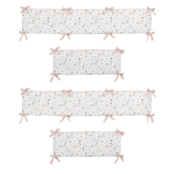 Unicorn Crib Bumper by Sweet Jojo Designs