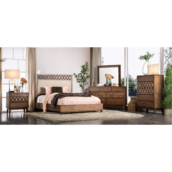 Keefe Upholstered Panel Configurable Bedroom Set by Bloomsbury Market