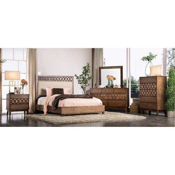 Keefe Upholstered Panel Configurable Bedroom Set by Bloomsbury Market