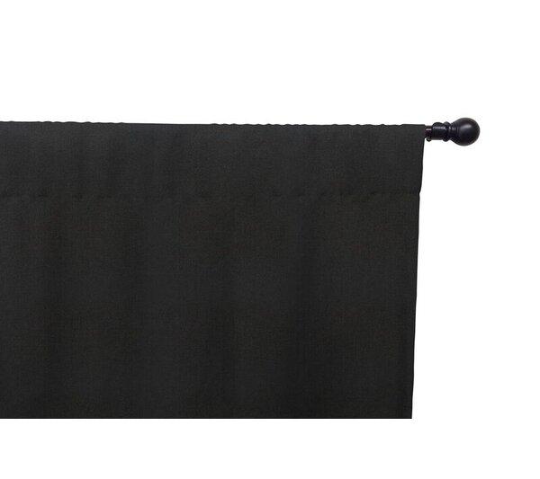 Solid Semi-Sheer Rod Pocket Single Curtain Panel by Eddie Bauer
