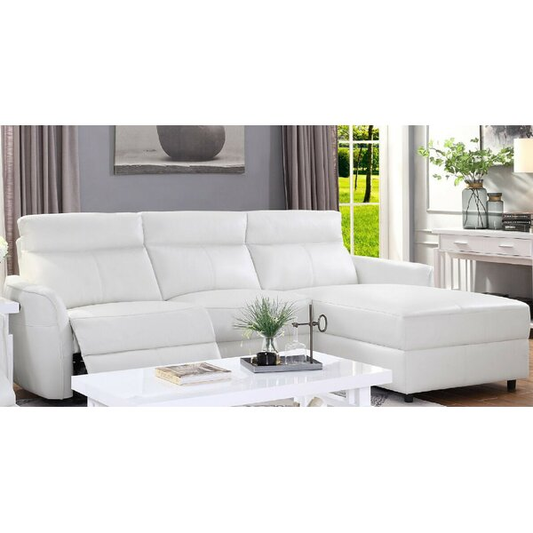 Treadwell Reclining Sectional by Orren Ellis