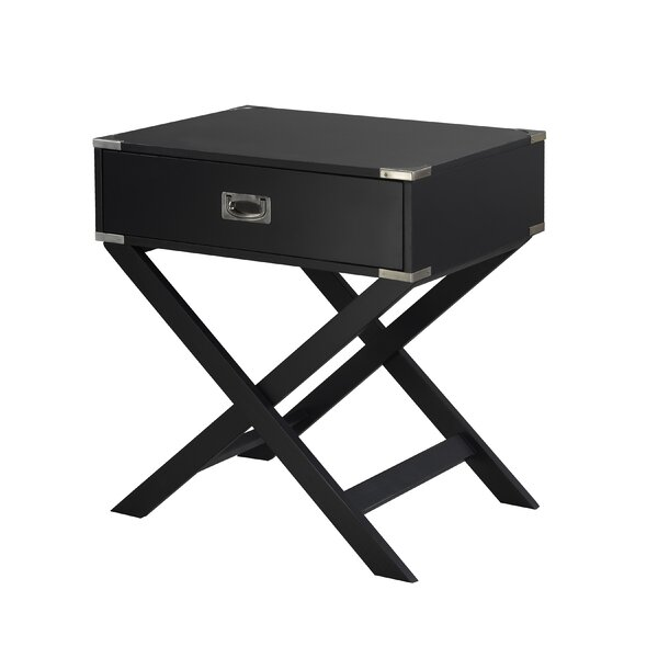 Dayton End Table by 17 Stories