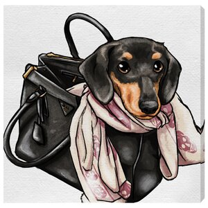 'Most Favorite Companion' Graphic Art on Wrapped Canvas by Willa Arlo Interiors