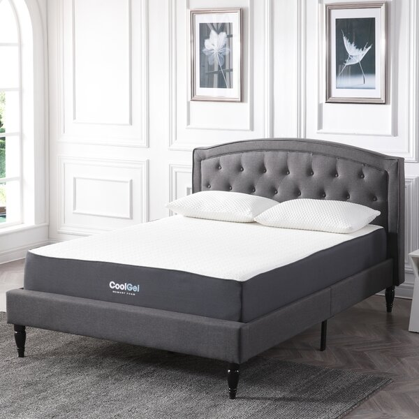 10.5 Firm Gel Memory Foam Mattress by Alwyn Home