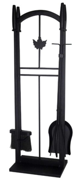 3 Piece Iron Fireplace Tool Set by Dyna-Glo