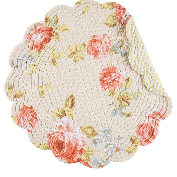 Emery Round Placemat (Set of 6) by Ophelia & Co.